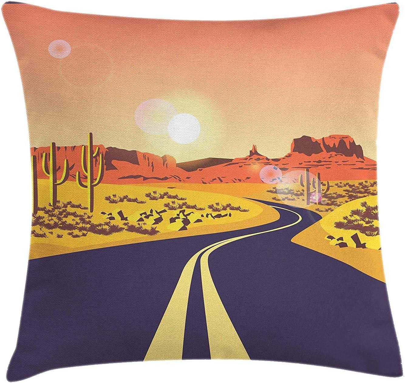 Fodera per cuscino per cuscino da viaggio, illustrazione