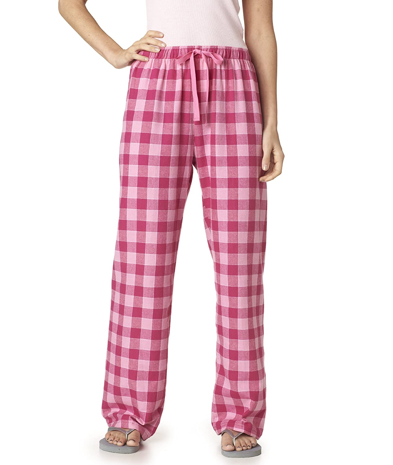 Made to Order Purple, Yellow and Pink Bicycles Unisex Adult Flannel Pajama Pants