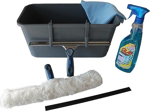 Profi fenster reinigungsset inklusive eimer einwaschbezug