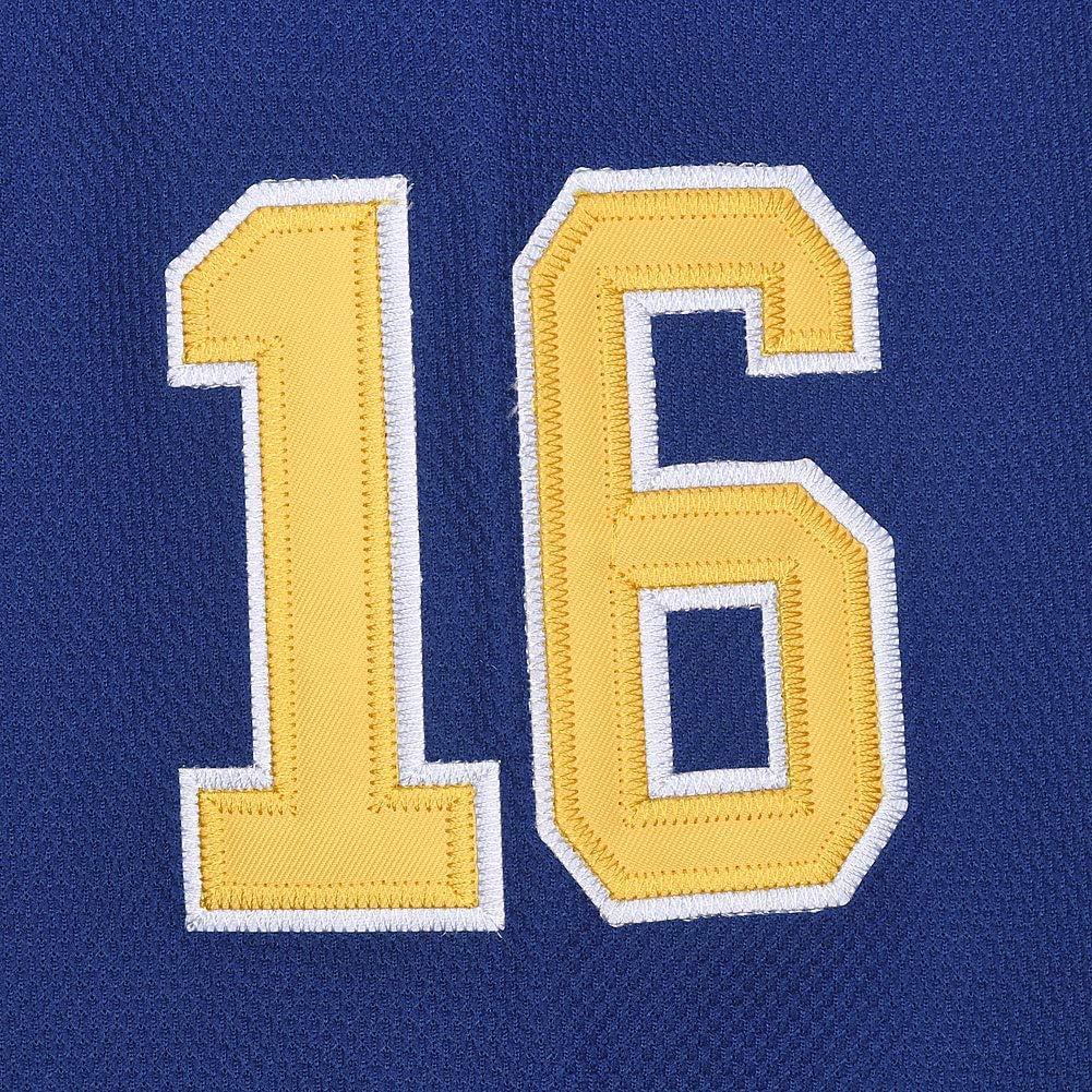 Hanson Brothers Charlestown Chiefs 16 Jack 17 Steve 18 Jeff Slap Shot Movie Ice Hockey Jersey