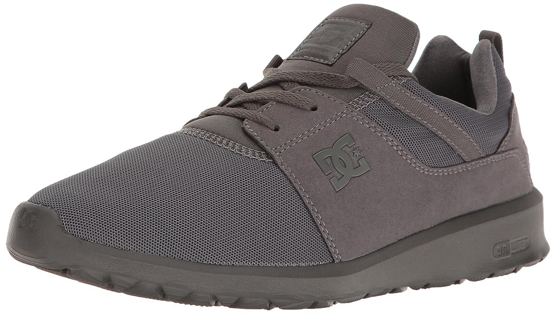 DC Men's Heathrow Casual Skate Shoe B01LAEGMX8 9 D(M) US|Grey