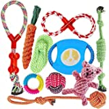Dog Toys for Aggressive Chewers   Puppy Dog Rope Toys   Interesting Interactive Dog Toys   for Small to Medium Dogs   Safe an