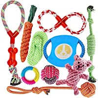 Dog Toys for Aggressive Chewers | Puppy Dog Rope Toys | Interesting Interactive Dog Toys | for Small to Medium Dogs…