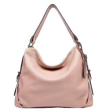 6c0b49d559d393 Amazon.com: DDDH Women's PU Leather Purses 3 Ways Hobo Handbag Shoulder  Tote Top Handle Handbag with Removable Straps(Pink): Computers & Accessories