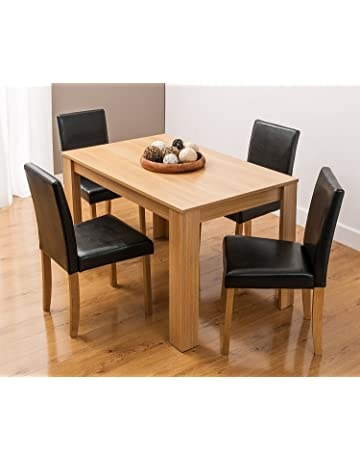 Astonishing Dining Table Sets Shop Amazon Uk Download Free Architecture Designs Remcamadebymaigaardcom