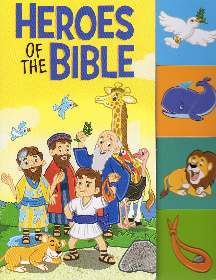 Read Online Heroes of the Bible - Tabbed Board Books ebook