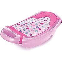 Summer Infant Bañera Splish 'N Splash para Bebés, color Rosa, paquete de 1