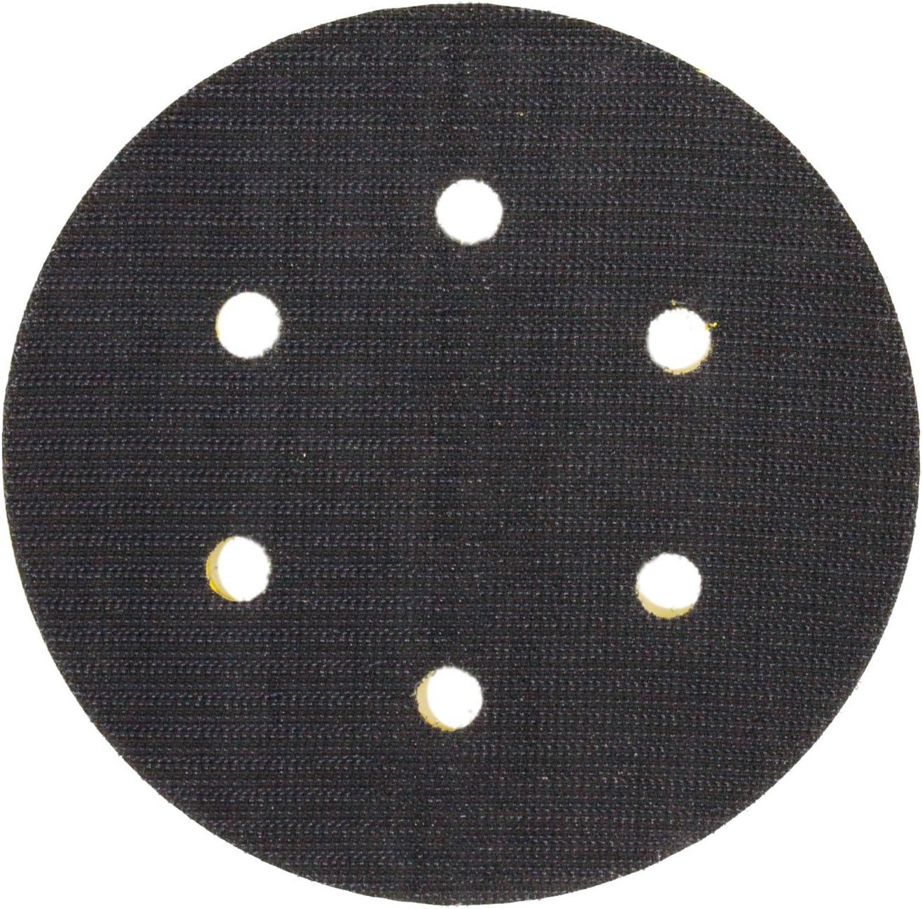 Dual Action Random Orbital 6 Hole Hook /& Loop Face TCP Global 6 DA Polisher /& Sander Pad