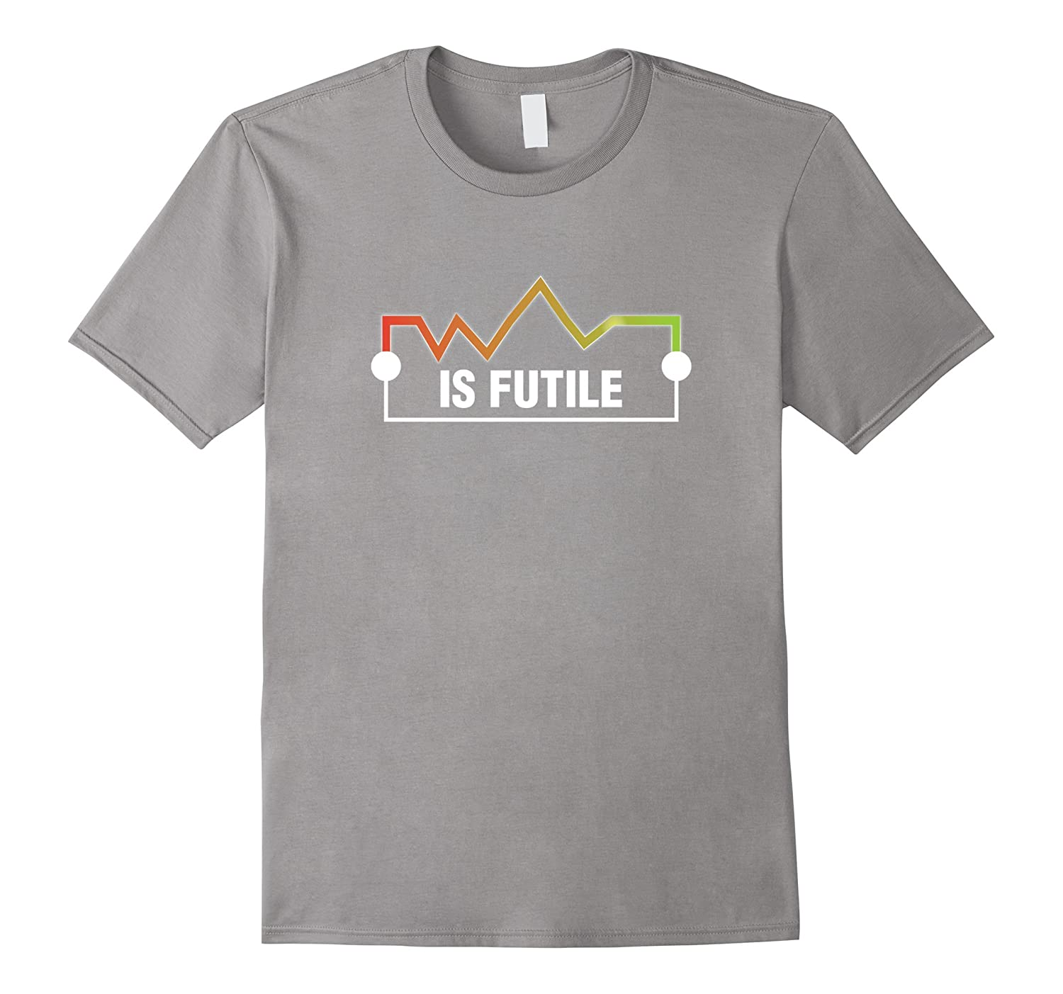 573d499d6 Resistance is Futile Funny Electrician Science Geek T-Shirt-RT ...