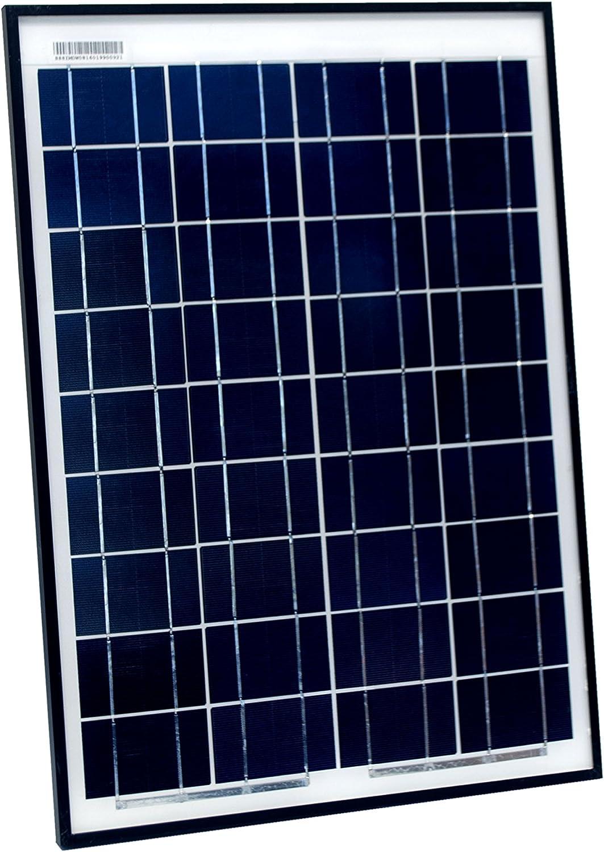 ALEKO SP20W12VPOLY 20-Watt Polycrystalline Solar Panel 12V