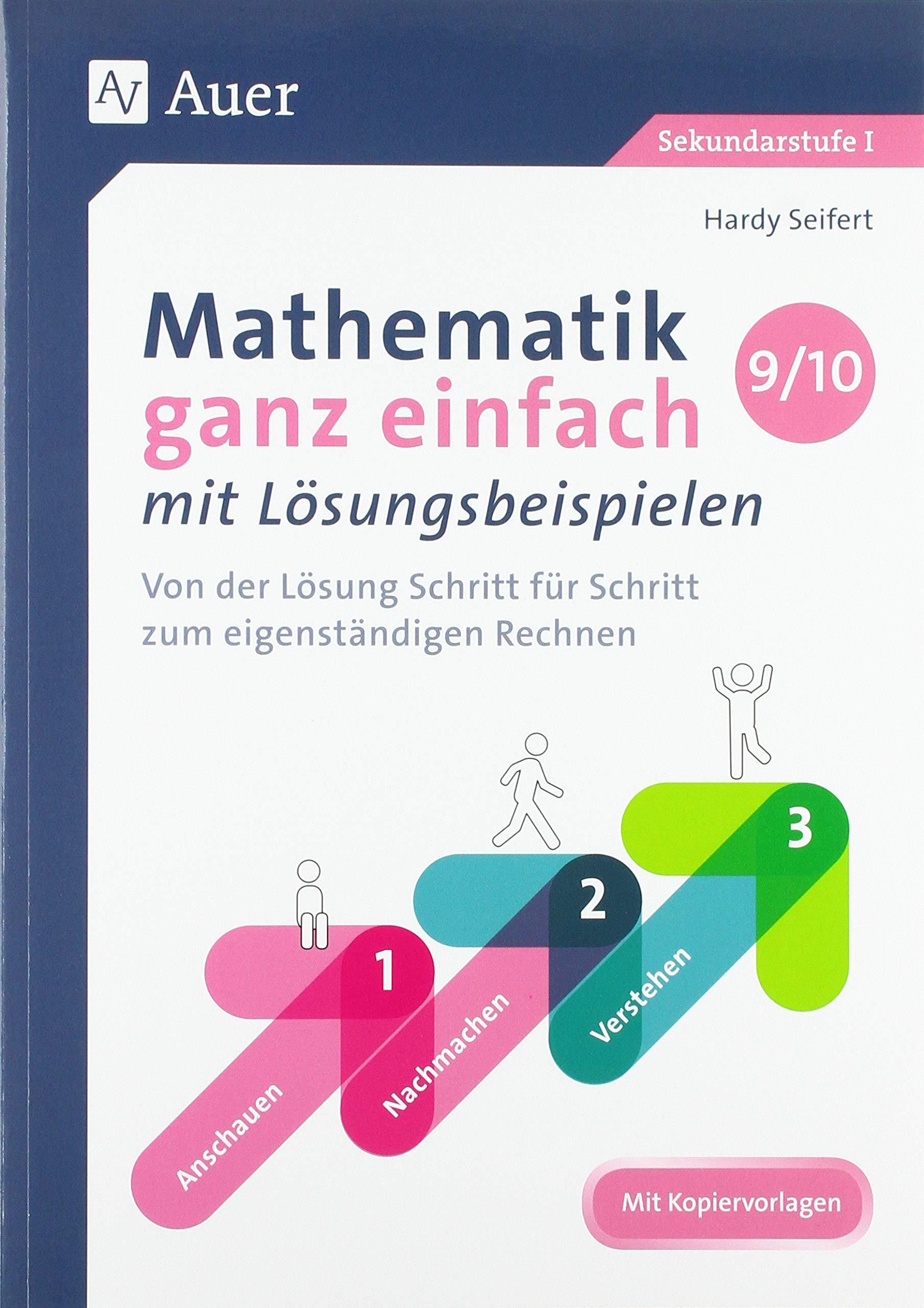 Mathematik ganz einfach mit Lösungsbeispielen 20 20 Von der Lösung ...