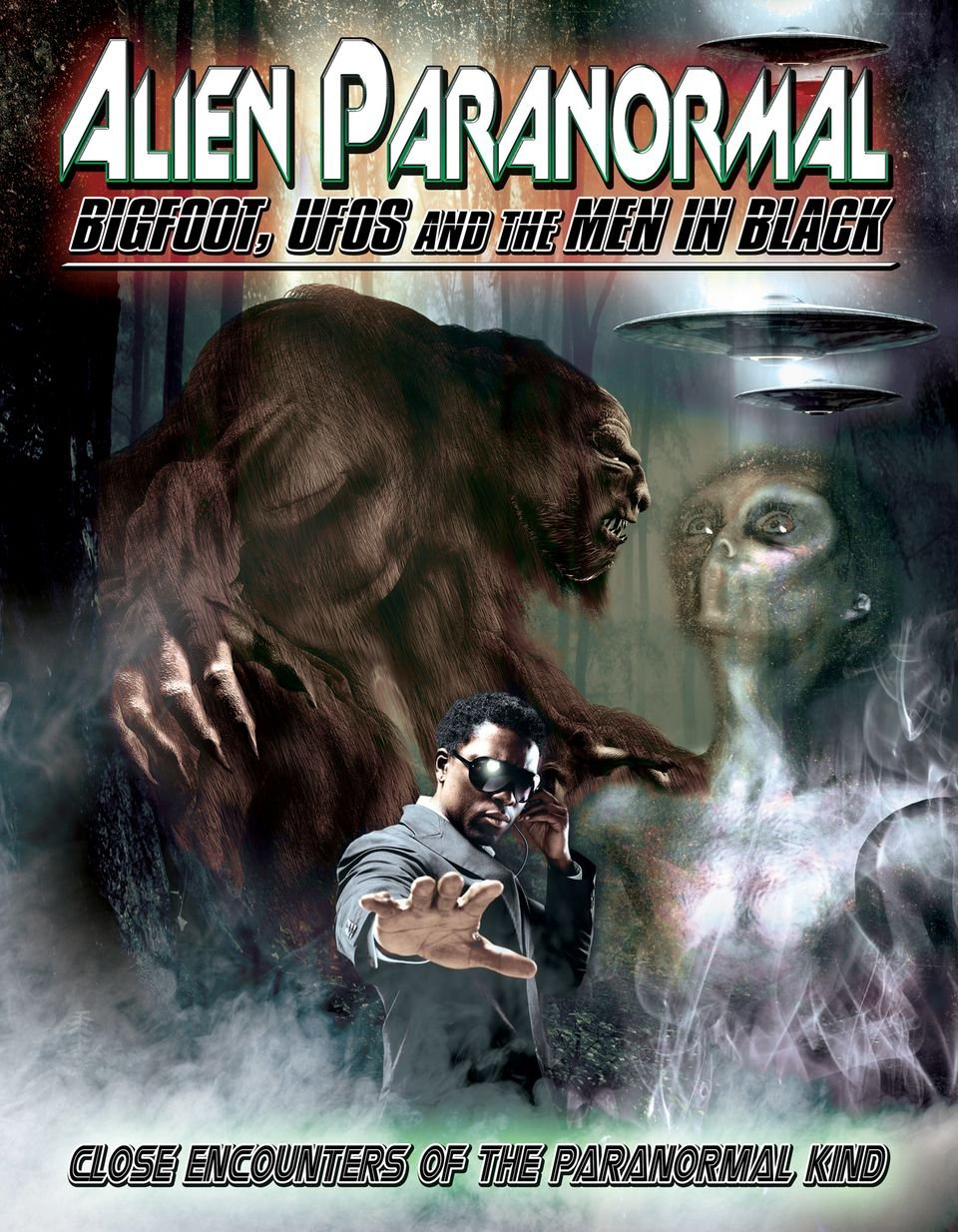 DVD : Amanda Ward - Alien Paranormal: Bigfoot, Ufos And The Men In Black (Full Frame)