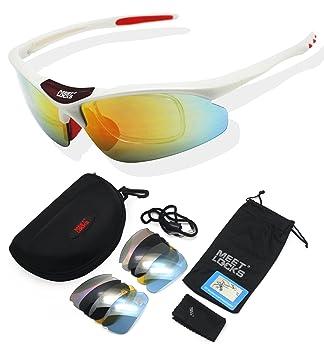 Meetlocks Deportes Gafas Riding, marco TR90, Pesca Polarizado, pieles, Ciclismo abrigo de
