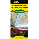 Lake George, Great Sacandaga: Adirondack Park (National Geographic Trails Illustrated Map)