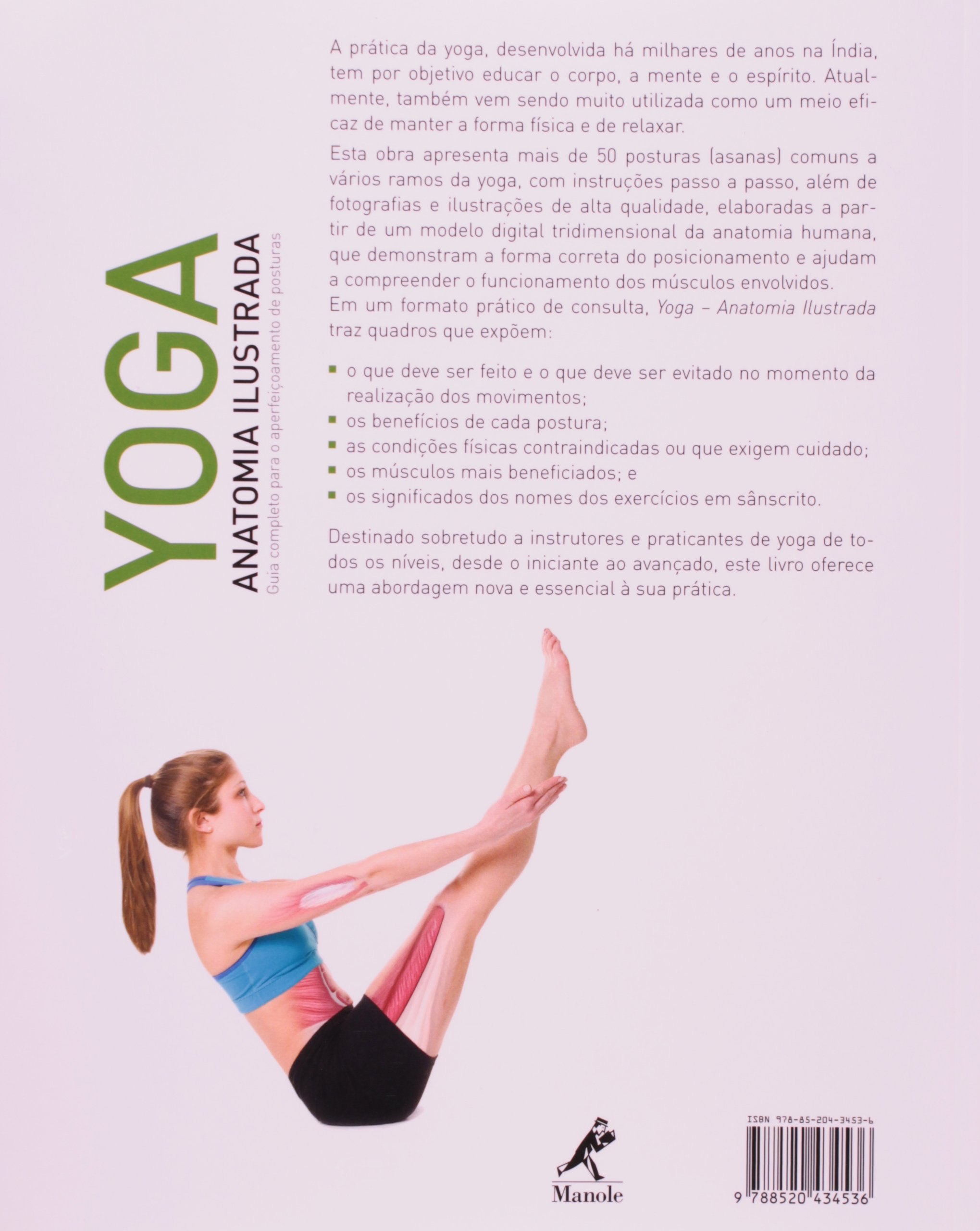 Yoga: Anatomia Ilustrada: Abigail Ellsworth: 9788520434536: Amazon ...