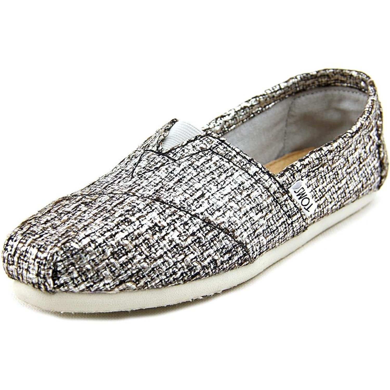 [トムス] スリッポン オリジナルクラシックス Burlap B075VFS5MP 5 B(M) US|Silver Glitter Wool Silver Glitter Wool 5 B(M) US
