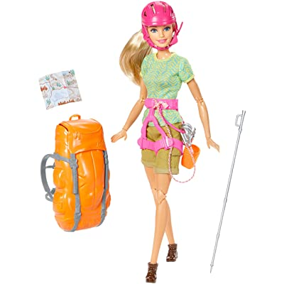 Barbie Made to Move The Ultimate Posable Rock Climber Doll: Toys & Games