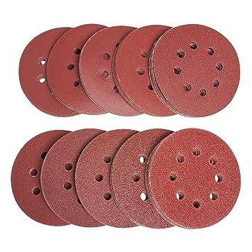 Draper 63470 Polierhaube Wolle 125 mm mit Klettsystem f/ür 63124 Exzenterschleifer