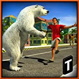 gun and blood - Angry Bear Attack 3D