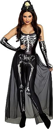 New Dreamgirl 11179 Bare Bones Babe Skeleton Costume
