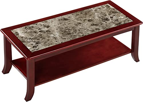 Deal of the week: SLEEPLACE Genoa Rectangular Red coffee Table