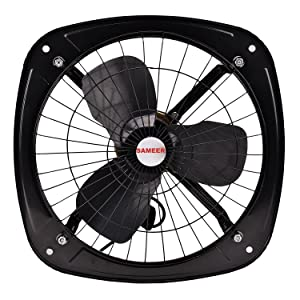 Sameer Metal 230Mm Ventilation Exhaust Fan (Standard, Black)