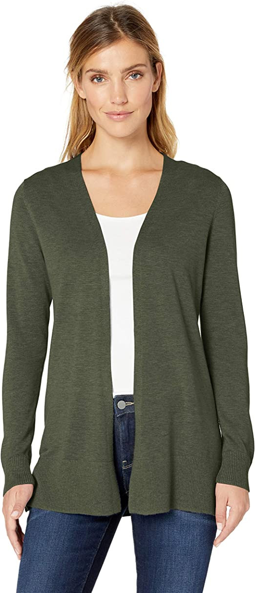 Amazon Essentials Women's Lightweight Open Front Cardigan Sweater