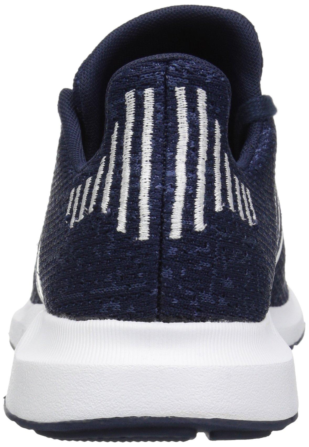 adidas Originals Baby Swift Running Shoe, Collegiate Navy/White/Mystery Blue, 4K M US Toddler by adidas Originals (Image #2)