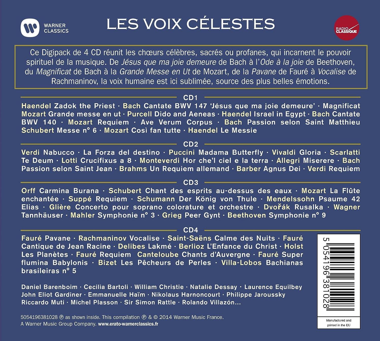 Les Voix Celestes - Radio Classique: Multi-Artistes: Amazon.fr: Musique