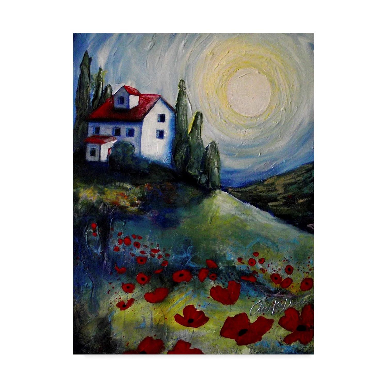 Trademark Fine Art Summer House by Cherie Roe Dirksen, 14x19 Fine Art, Multicolor