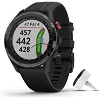 Garmin Approach S62 Bundle, Premium Golf GPS Watch with 3 CT10 Club Tracking Sensors, Built-in Virtual Caddie, Mapping…