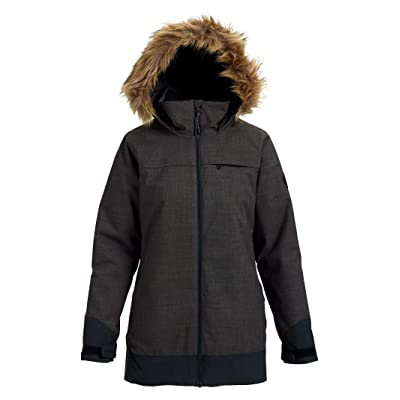 .com : Burton Women's Lelah Jacket with Removable Fur Trim : Clothing