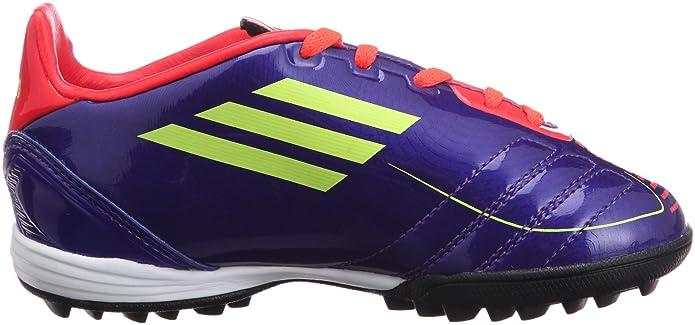 Adidas F10 TRX TF J G40280 Fußballschuhe lilaorangeneon