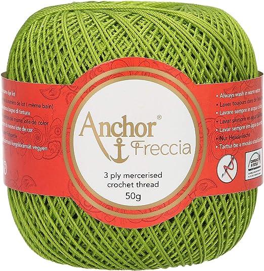Anchor Freccia Crochet algodón no 12 – Bola de 50 G – Color Verde ...