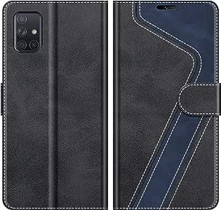 MOBESV Funda para Samsung Galaxy A71, Funda Libro Samsung A71 ...