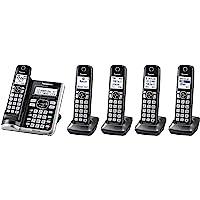 Panasonic Link2Cell Bluetooth Cordless Phone System KX-TGF575S Deals