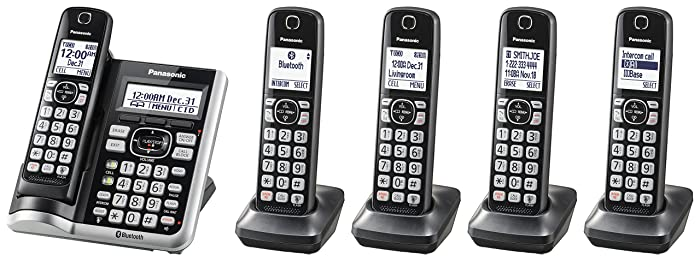 Top 9 Home Phones Landline Cordless 2 Handsets And Headset