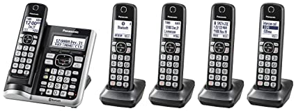 PANASONIC Link2Cell Bluetooth Cordless Phone System with Voice Assistant