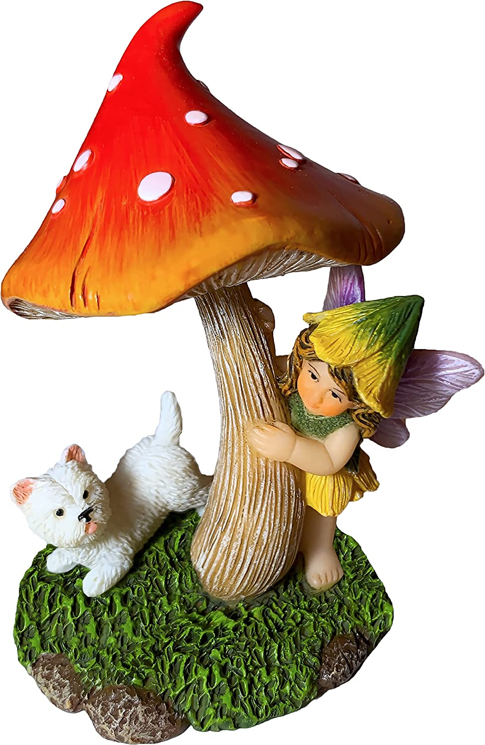 Fairy Garden Miniature Figurines and Accessories - Hide and Seek Statue Kit