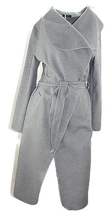 on sale c798f cc0b4 #4092 Damen Trenchcoat Mantel Übergangsjacke Volant Wintermantel lang  Wollmantel 34 36 38 Onesize