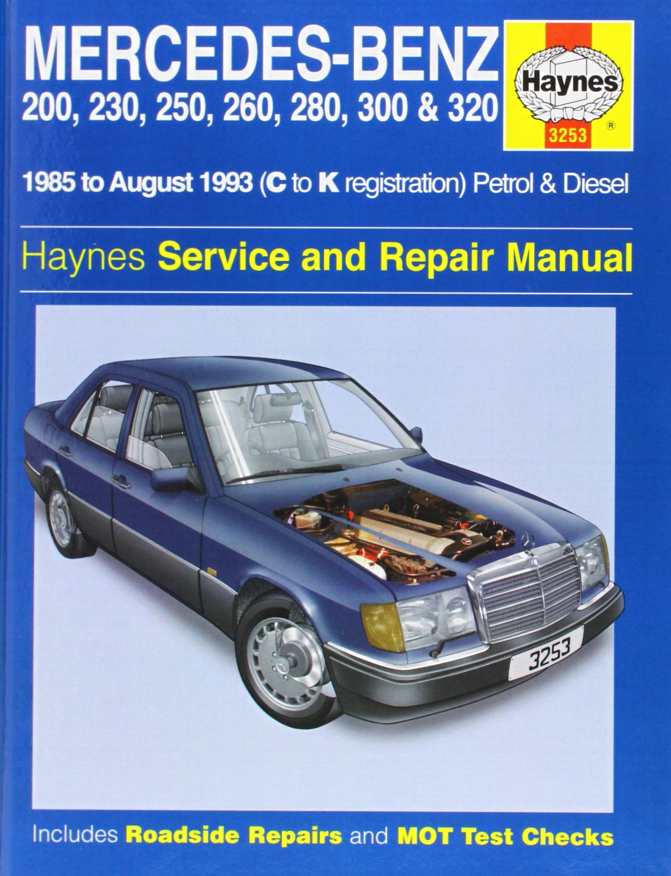 mercedes benz 124 series 85 93 service and repair manual haynes rh amazon  com 1996 Mercedes E320 Transmission 1996 mercedes benz e320 repair manual