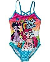 My Little Pony Girls Swimsuit One Piece Size 5/6