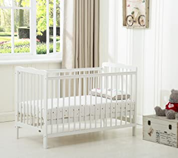 Baby Cots Uk Mcc brooklyn baby cot crib with water repellent mattress amazon mcc brooklyn baby cot crib with water repellent mattress sisterspd