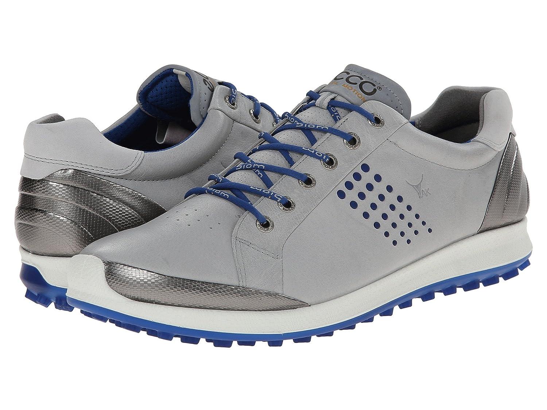 [エコー ゴルフ] ECCO Golf メンズ BIOM Hybrid 2 スニーカー [並行輸入品] B01BWENG62 44 (US Men's 10-10.5)(28.0-28.5cm) - D - Medium Concrete/Royal