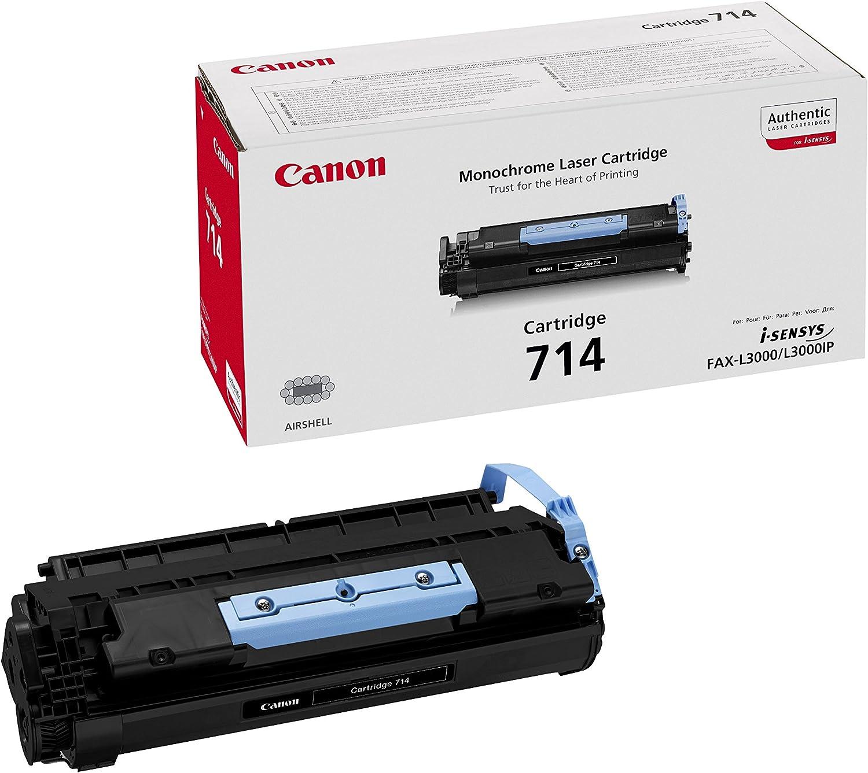 Canon cartucho 714 de tóner original negro para impresoras láser i ...
