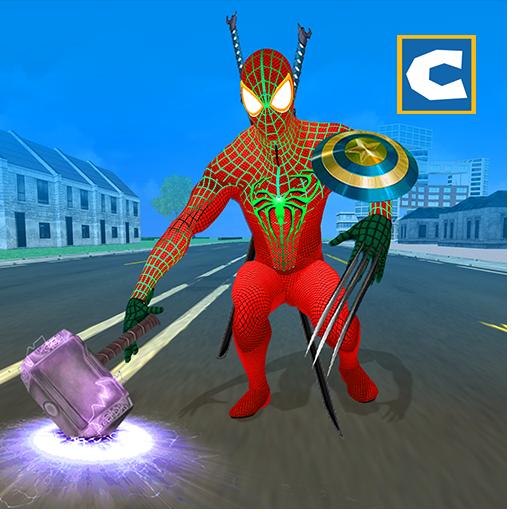 Hybrid Superhero vs Super (Hero Superhero)