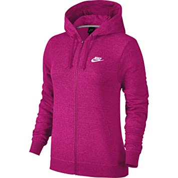 Veste Capuche Sports Femme Club Nike Full Zip Fleece À 4HYnIBqv