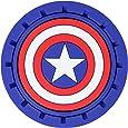 Plasticolor 000653R01 Marvel Captain America Cup Holder Coaster