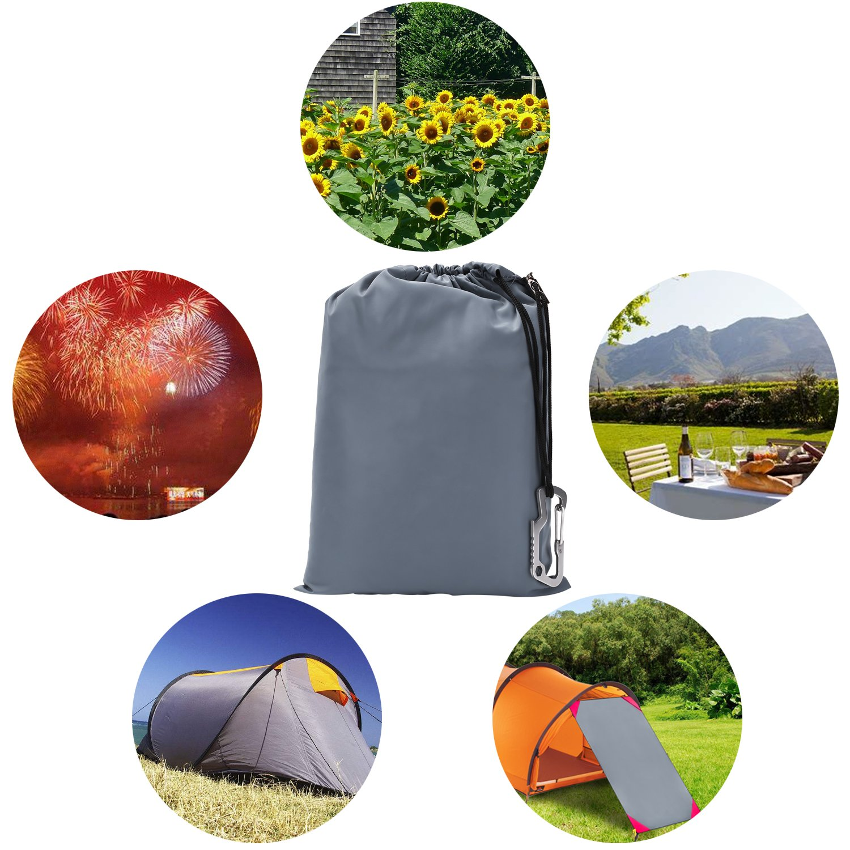 HOVNEE Manta de Picnic El único Tamaño 200 x 150cm. Impermeable Plegable Impermeable Portátil Compacto Alfombra para Outdoor Camping Jardín Familia al Aire ...