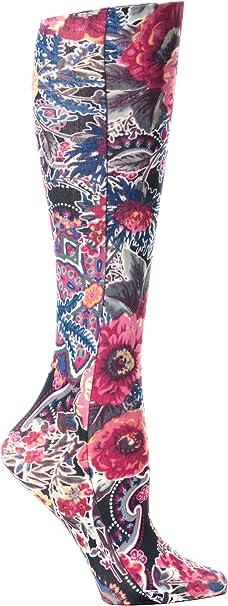 Moderate Celeste Stein Therapeutic Compression Socks Black Marisa 15-20 mmHg